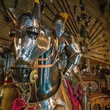 Armored war horse